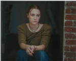 Saoirse Ronan  HANNA - LADY BIRD,  Genuine Signed Autograph 10 x 8  - 10706